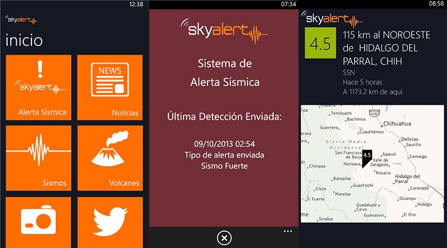 SkyAlert-Windows-Phone-8